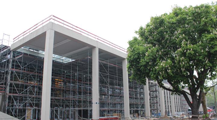 Rhein Main Hallen Wiesbaden Bauzeit I Cmm Fertig GmbH